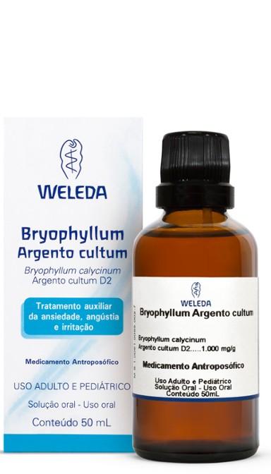 Bryophyllum Weleda D2 Argento Cultum Líquido 50 mL Weleda