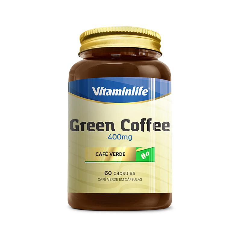 Café Verde 400 mg   60 Cápsulas  Vitamin Life