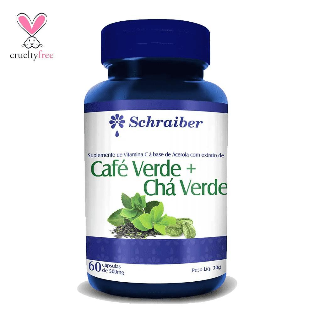 Café Verde + Cromo 60 Cápsulas Schraiber