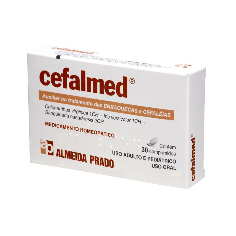 Cefalmed 30 comprimidos Almeida Prado