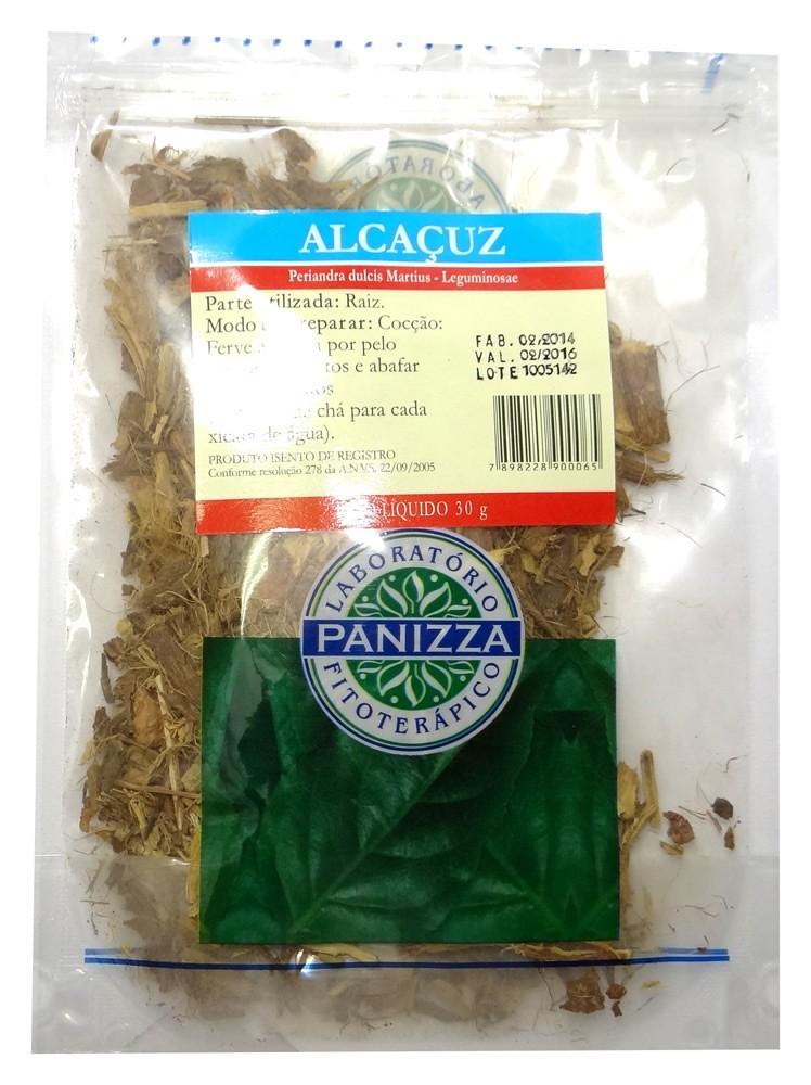 Chá Alcaçuz 30g Panizza