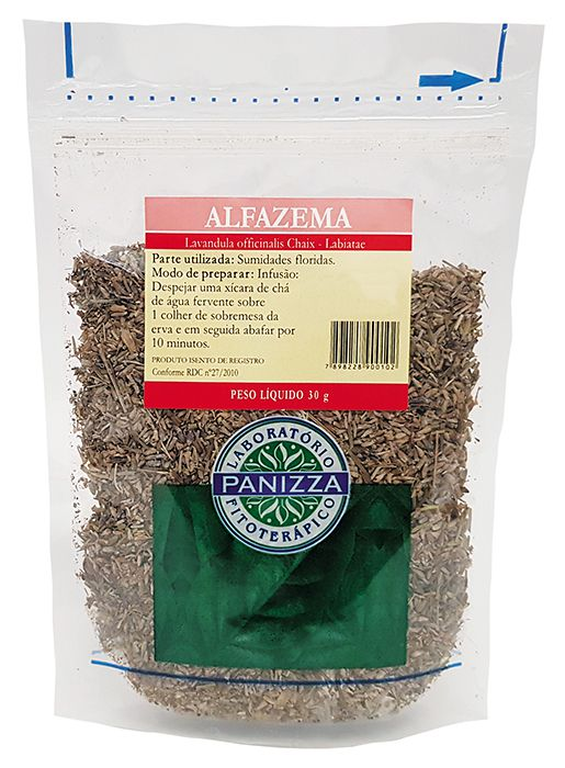 Chá Alfazema 30g Panizza