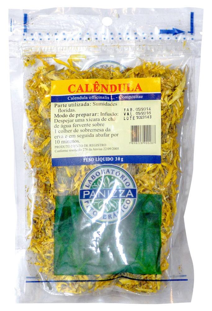 Chá Calêndula 30g Panizza