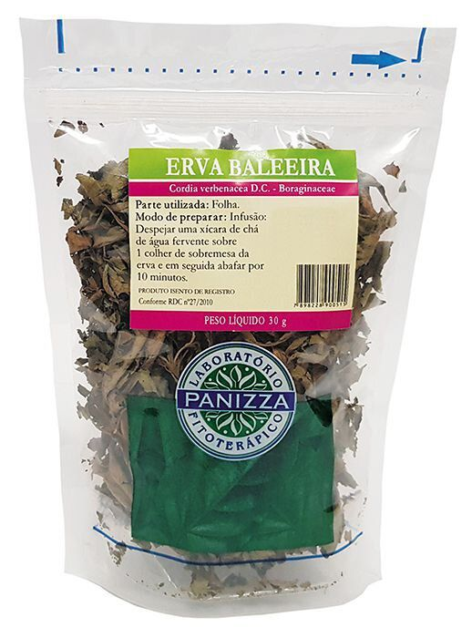Chá Erva Baleeira 30g Panizza