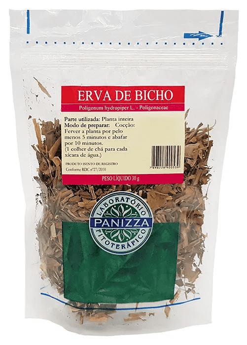 Chá Erva Bicho 30g Panizza