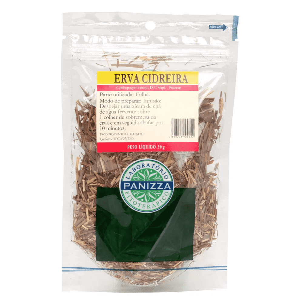 Chá Erva Cidreira 30g Panizza