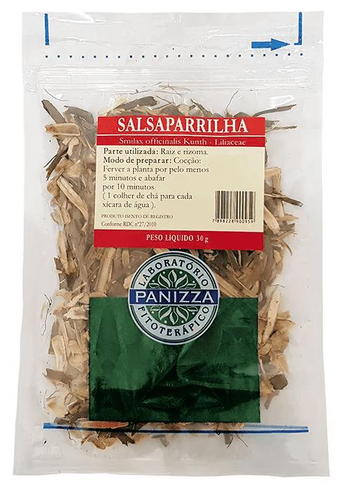 Chá Salsaparrilha 30g Panizza