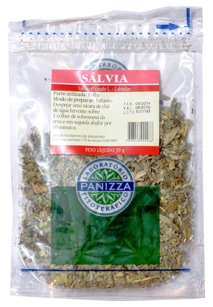 Chá Sálvia 30g Panizza