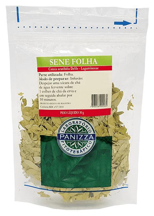 Chá Sene Folhas 30g Panizza
