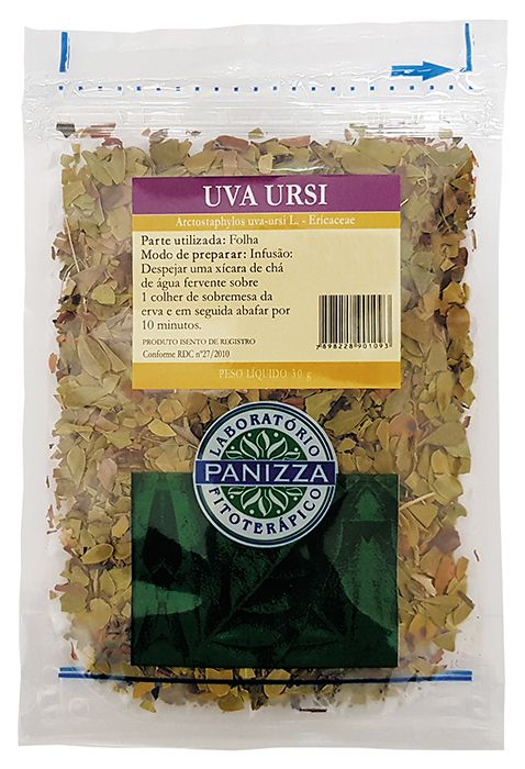 Chá Uva Ursi 30g Panizza