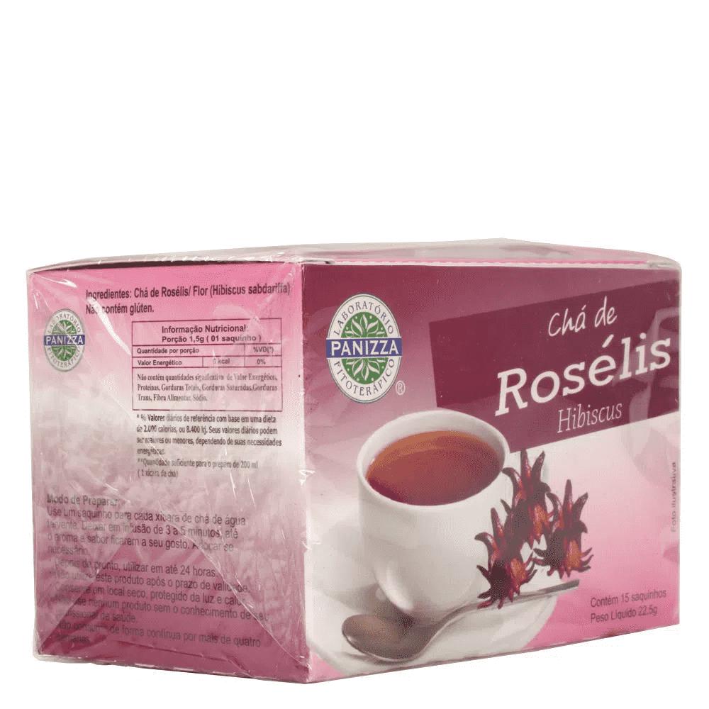 Chá Verde c/ Roselis Pêssego c/ 15uni Panizza
