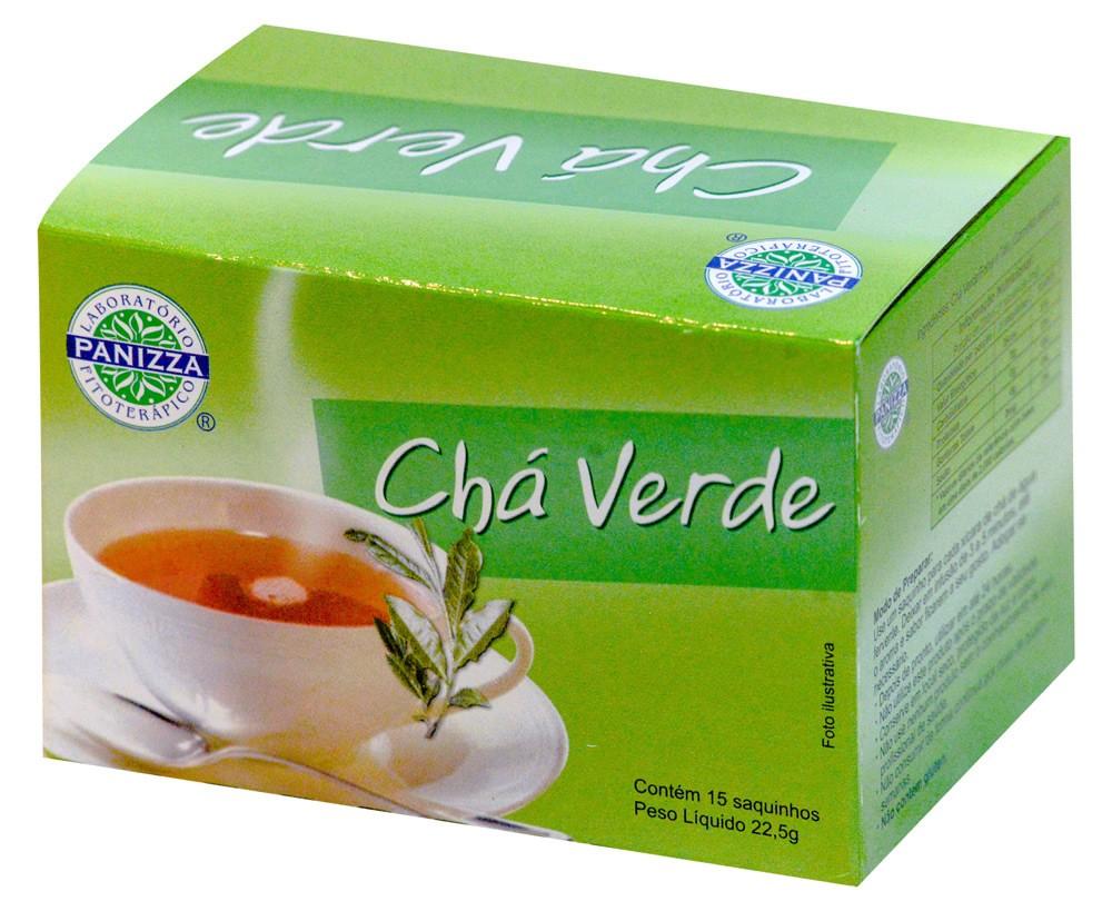 Chá Verde Limao 15 Sachês Panizza