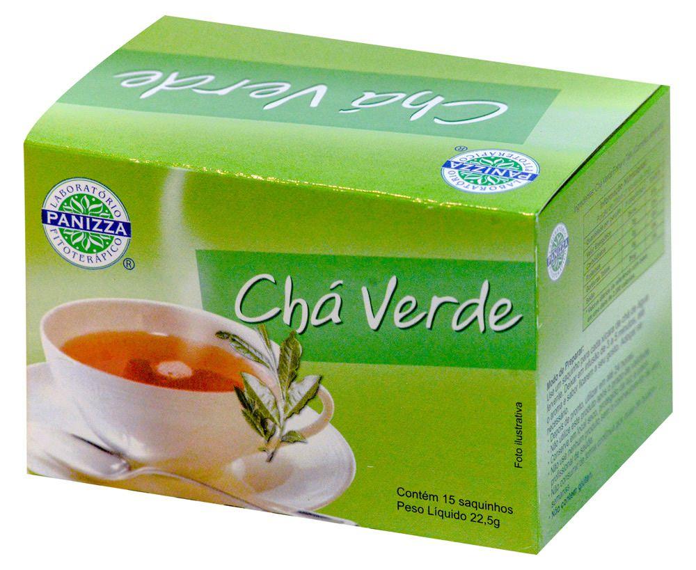 Chá Verde Sachê Panizza