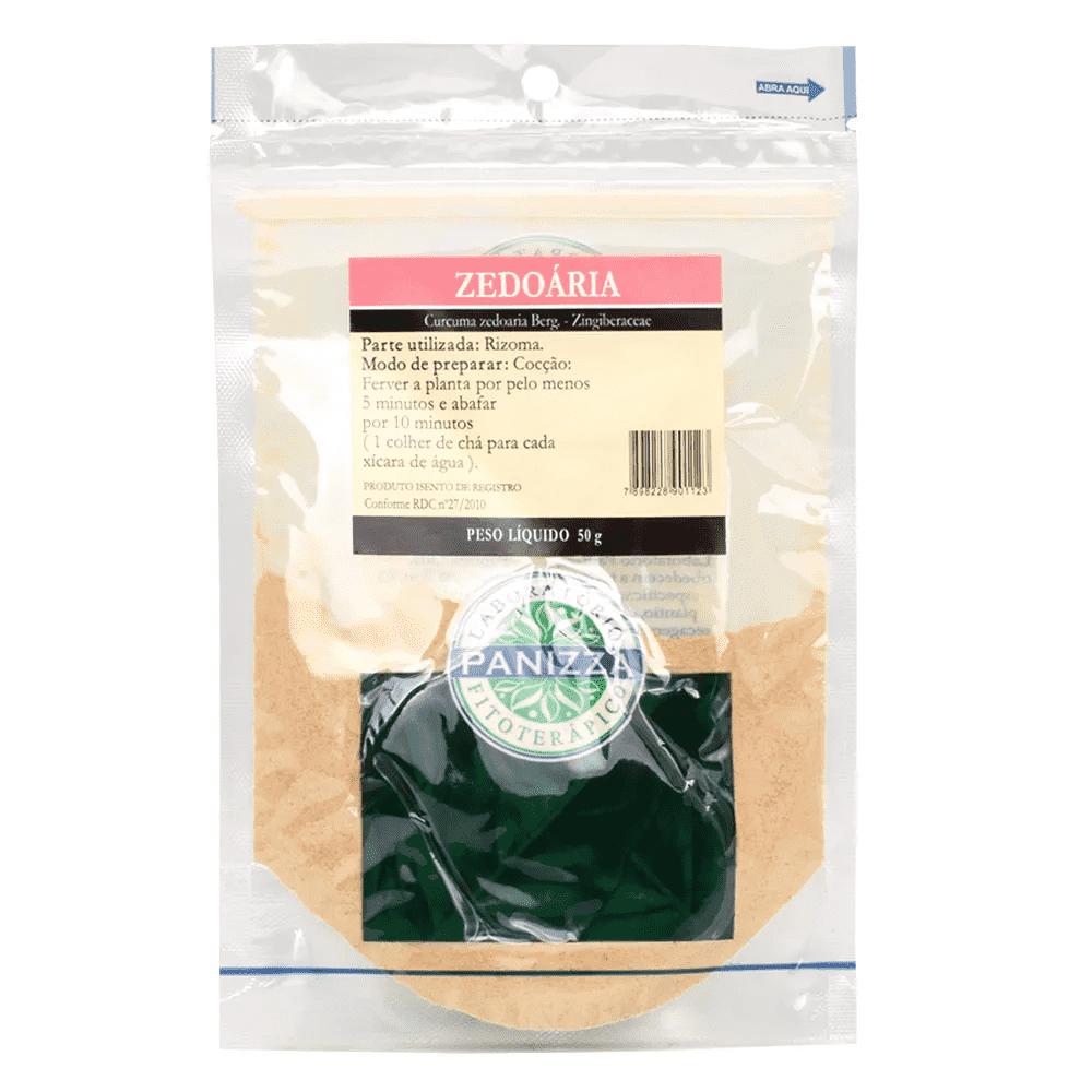 Chá Zedoaria 50g Panizza