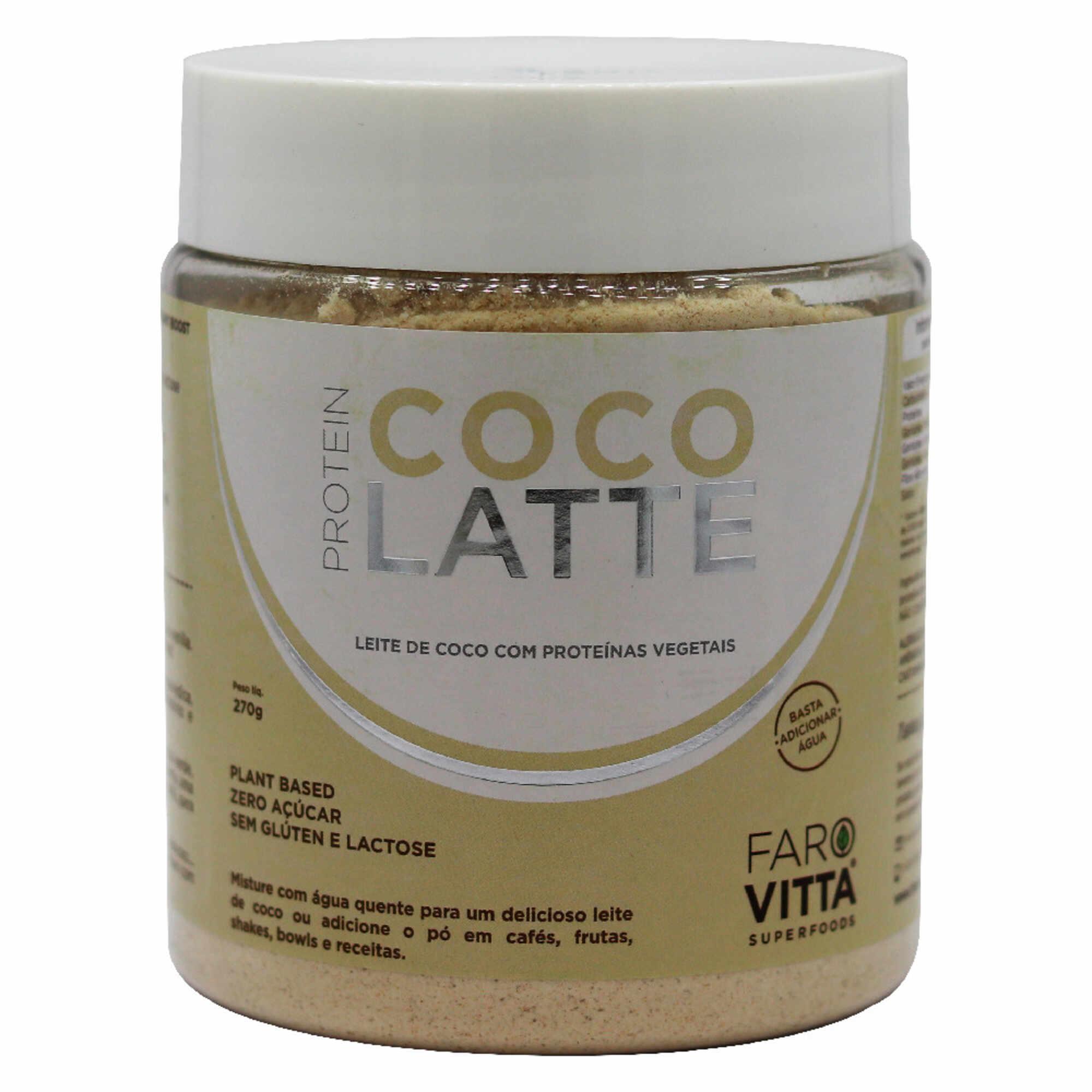Côco Latte 270g Farovitta