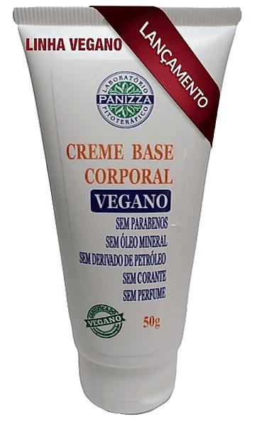Creme Base Corporal Vegano 50g Panizza