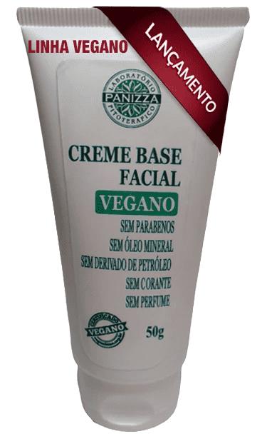 Creme Base Facial Vegano 50g Panizza