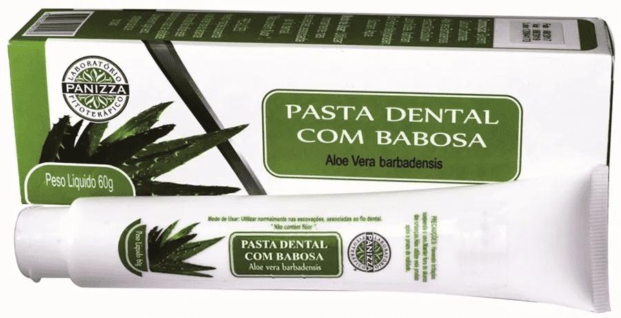 Creme Dental de Babosa 60g Panizza
