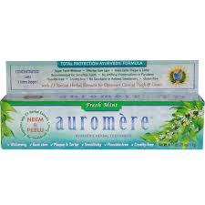 Creme Dental Natural Fresh Mint Auromère 117g