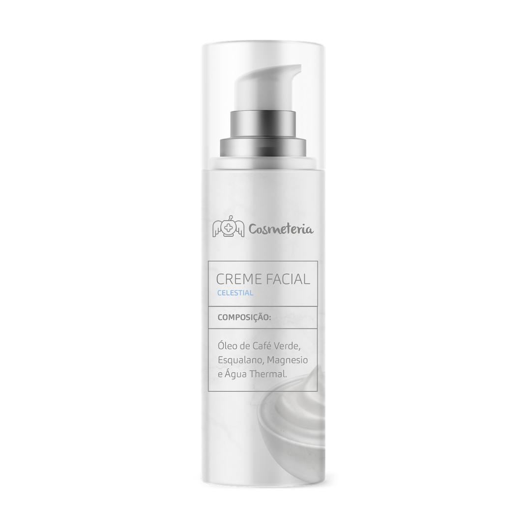 Creme Facial Celestial 30g Iluminador Cosmeteria
