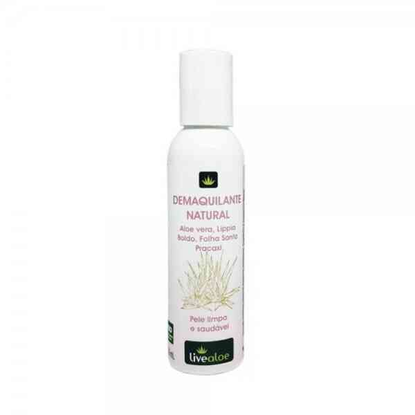 Demaquilante Natural 120mL Live Aloe