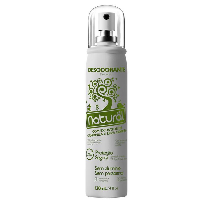 Desodorante Camomila Erva Cidreira 120mL Suavetex