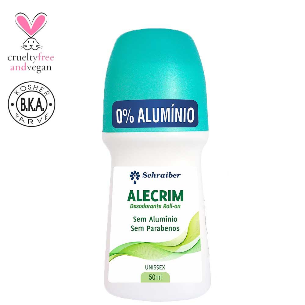 Desodorante Rollon Alecrim 50mL Schraiber