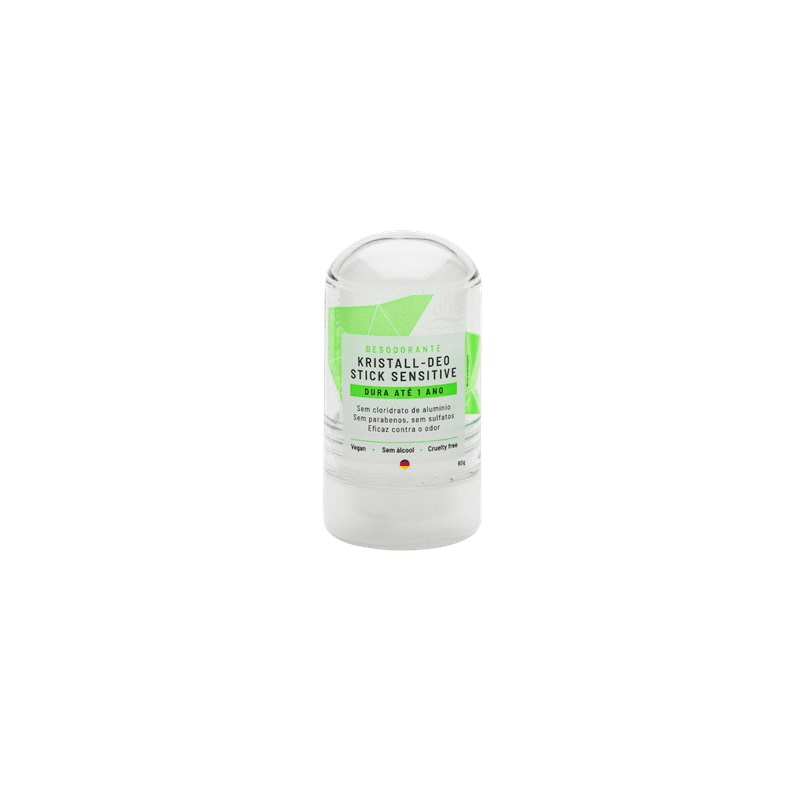 Desodorante Stick Kristall Mini Sensitive 60g Alva