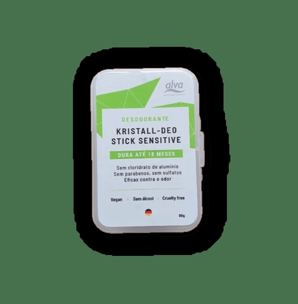 Desodorante Stone Kristall Sensitive 90g Alva
