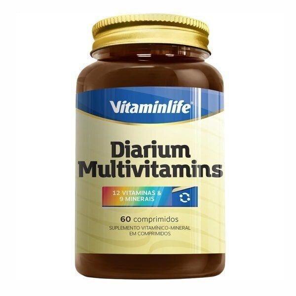 Diarium Multivitamins  60 Cápsulas  Vitamin Life