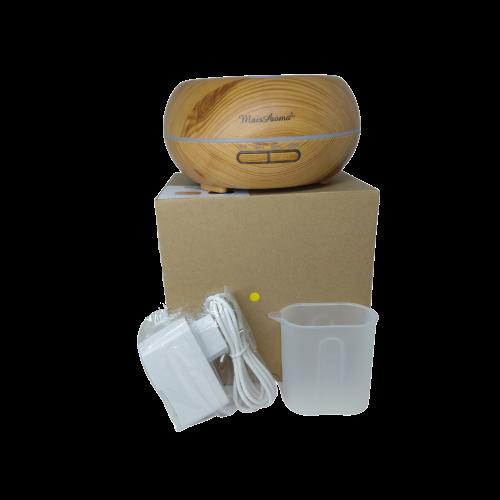 Difusor de Aromas Mod. H33 300mL Mais Aroma Madeira Clara