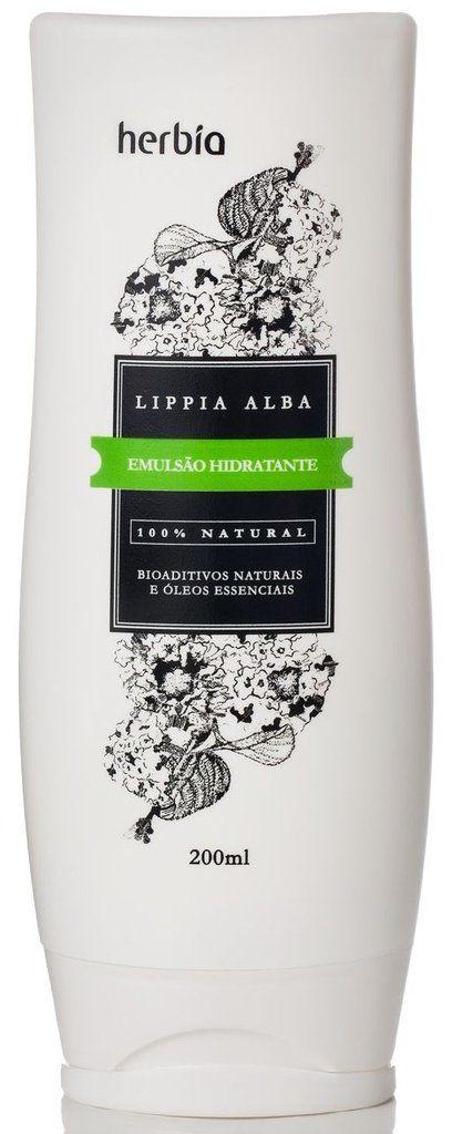 Emulsão Hidratante Lippia Alba 200mL Herbia