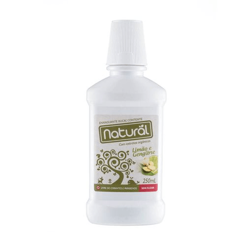 Enxaguatório Bucal Natural Contente 250mL Suavetex