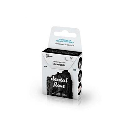 Fio dental Orgânico Charcoal 50m The Humble