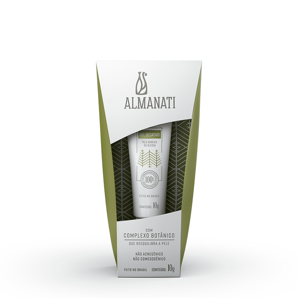Gel Secativo Antiacne 10g Almanati