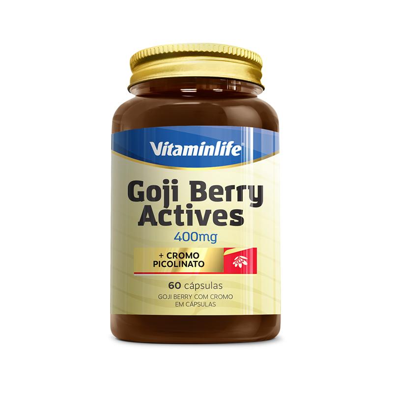 Goji Berry Actives  60 Cápsulas  Vitamin Life