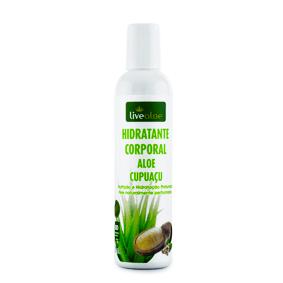 Hidratante Corporal Aloe Cupuaçu 200mL Live Aloe