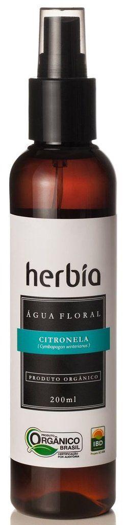 Hidrolato Citronela 200mL Herbia