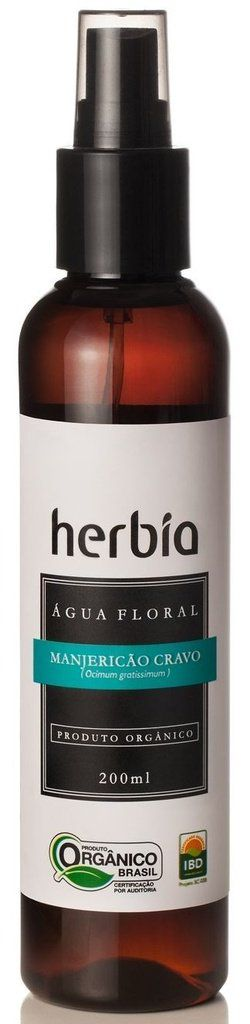 Hidrolato Manjericão Cravo 200mL Herbia