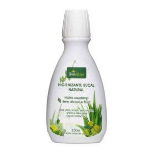 Higienizante Bucal Natural 250mL Live Aloe
