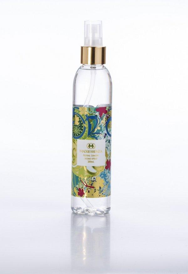 Home Spray Floral Lemon 200mL Madressenza