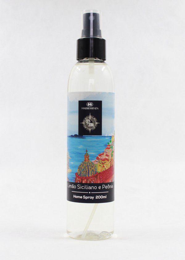 Home Spray Limão Siciliano E Peônia 200mL Madressenza