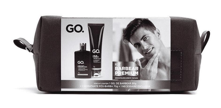 Kit Barbear Premium Gel + Hidratante Go
