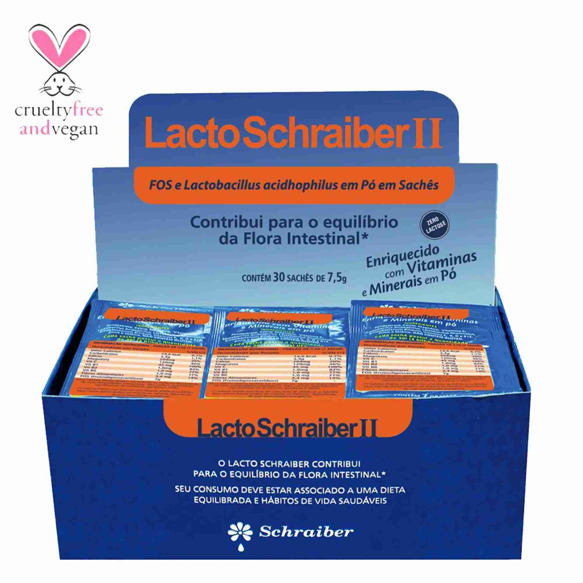 Lacto Schraiber II 30 Saches Schraiber