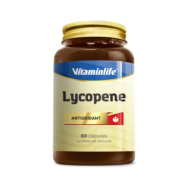 Lycopene Antioxidant 6 mg  60 Cápsulas  Vitamin Life