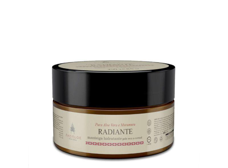 Manteiga Radiante Hidratante 250g Ahaloe