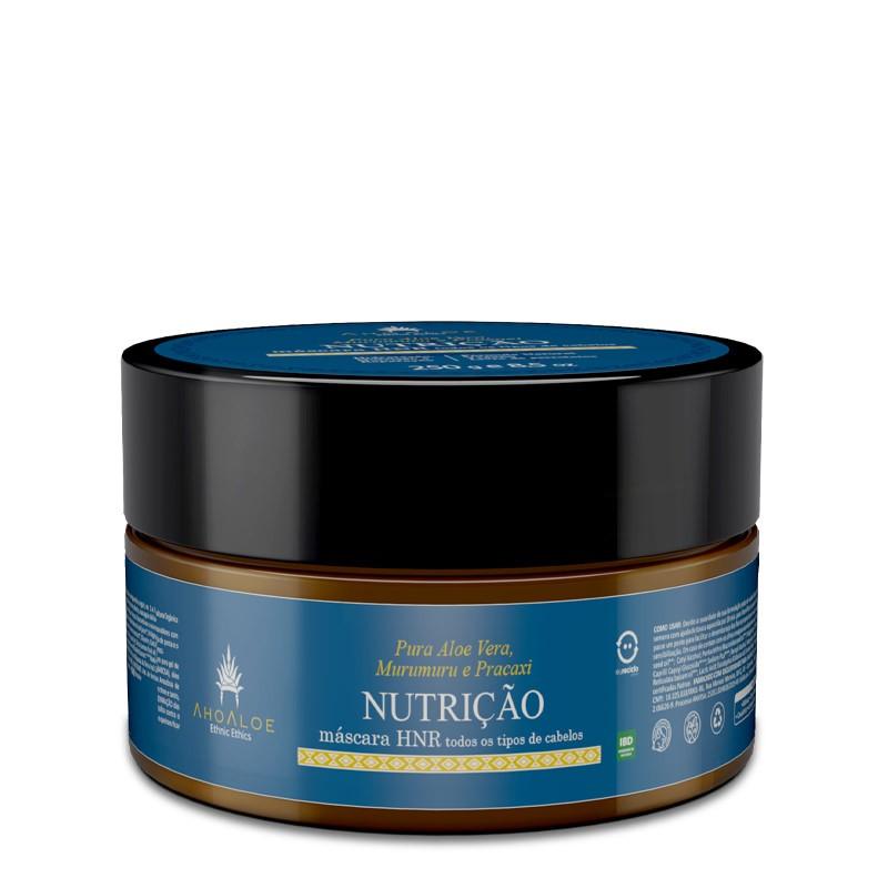 Máscara Capilar Natural Multifuncional Nutrição 250g AhoAloe