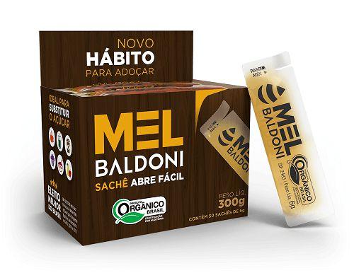 Mel Sachê C/50 unidades Orgânico Baldoni