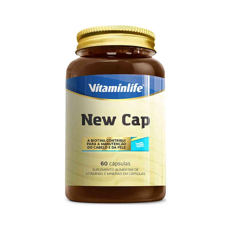 New Cap 60 Cápsulas  Vitamin Life