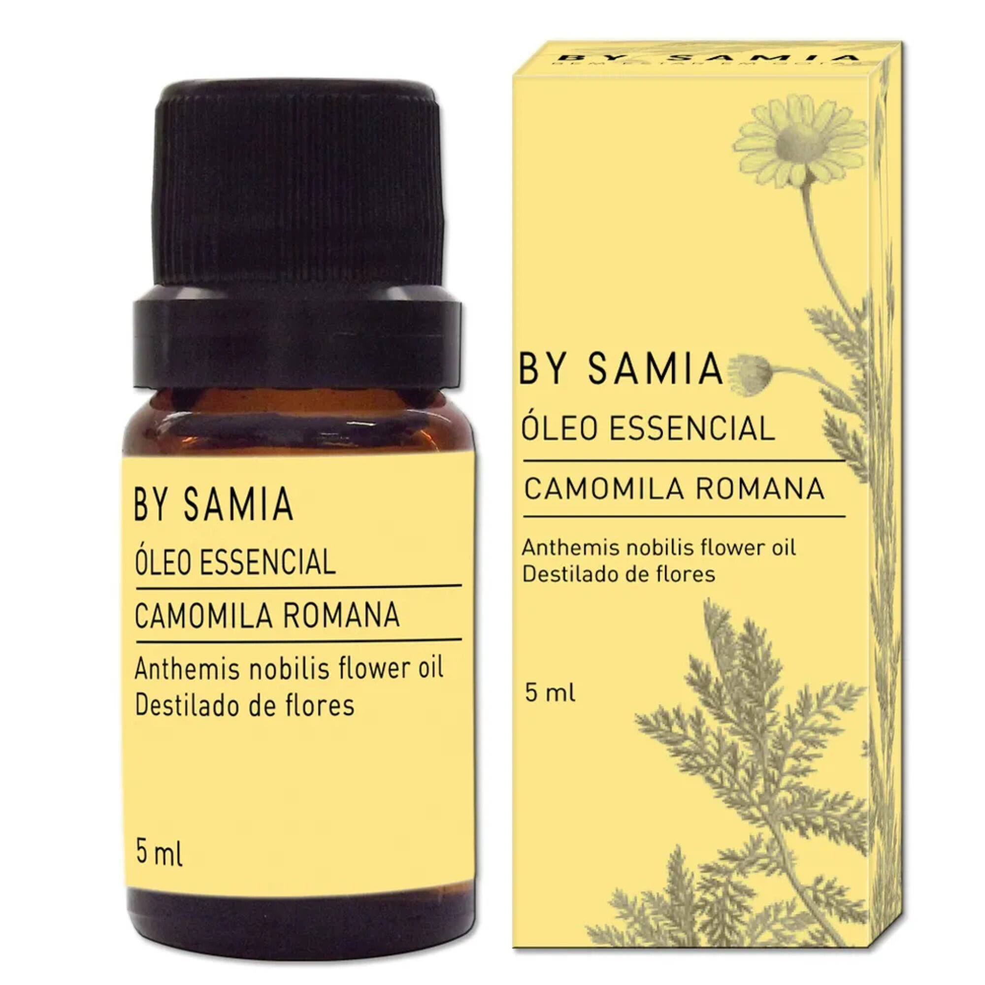 Óleo Essencial Camomila Romana 5mL By Samia